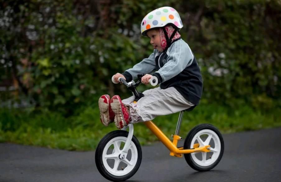 Как я научил ребенка ездить на велосипеде