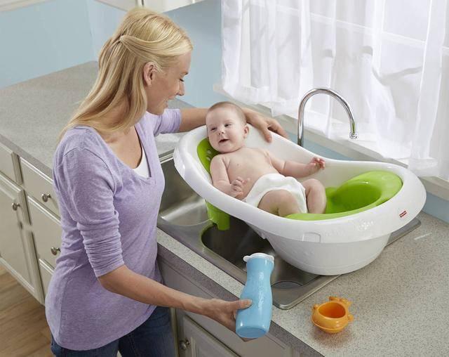 Ванночка для купания новорожденных — какая лучше. складная ванночка для новорожденных