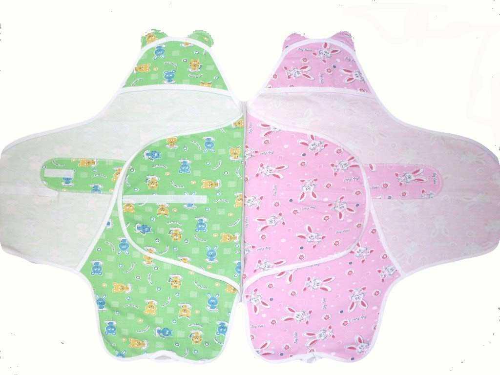 Готовим пеленки для новорожденного