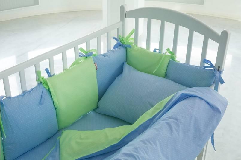 Постельное бельё для новорожденных в кроватку: размеры, советы по выбору