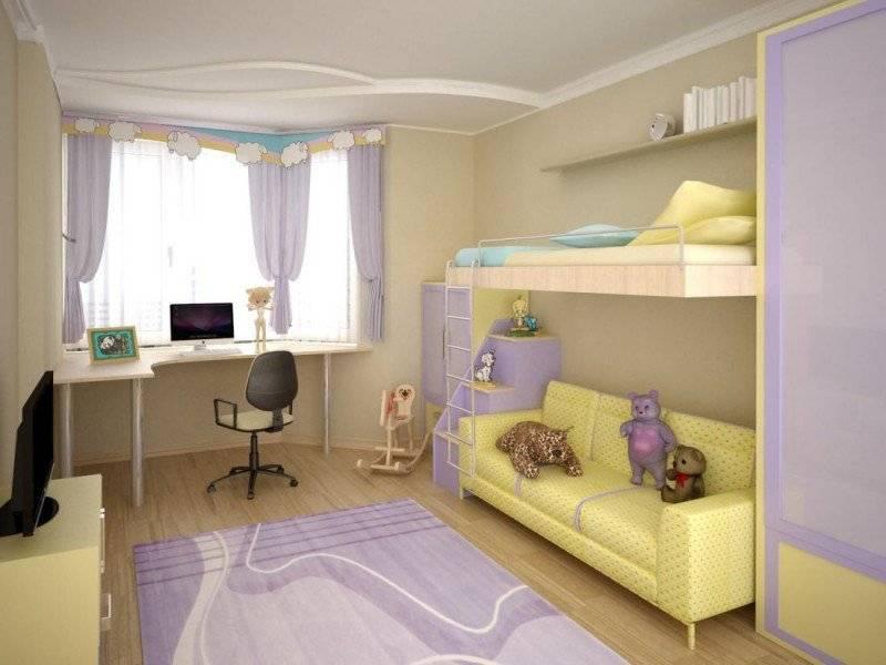 Детская комната в хрущевке: дизайн спальни для девочки, мальчика или двоих, реальные фото