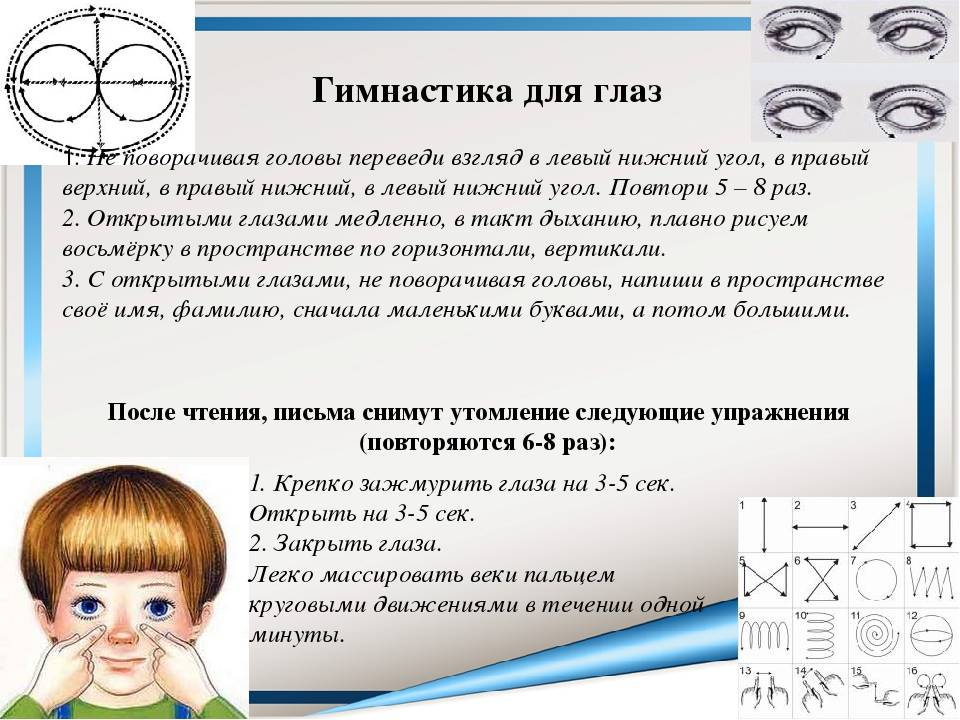 Лучшая гимнастика для улучшения и сохранения зрения