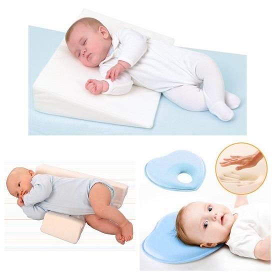Нужна ли ортопедическая подушка для новорожденных?