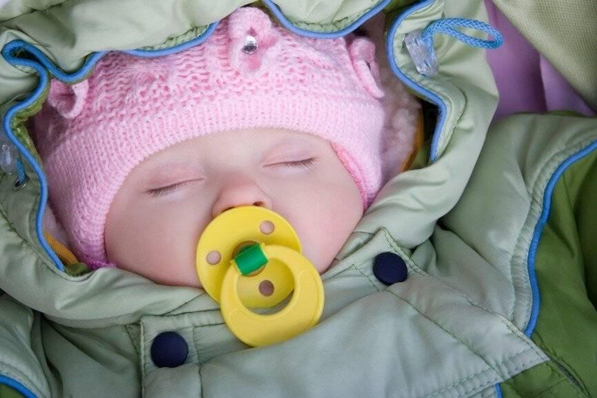 Холодный нос у новорожденного в роддоме - мамино счастье
