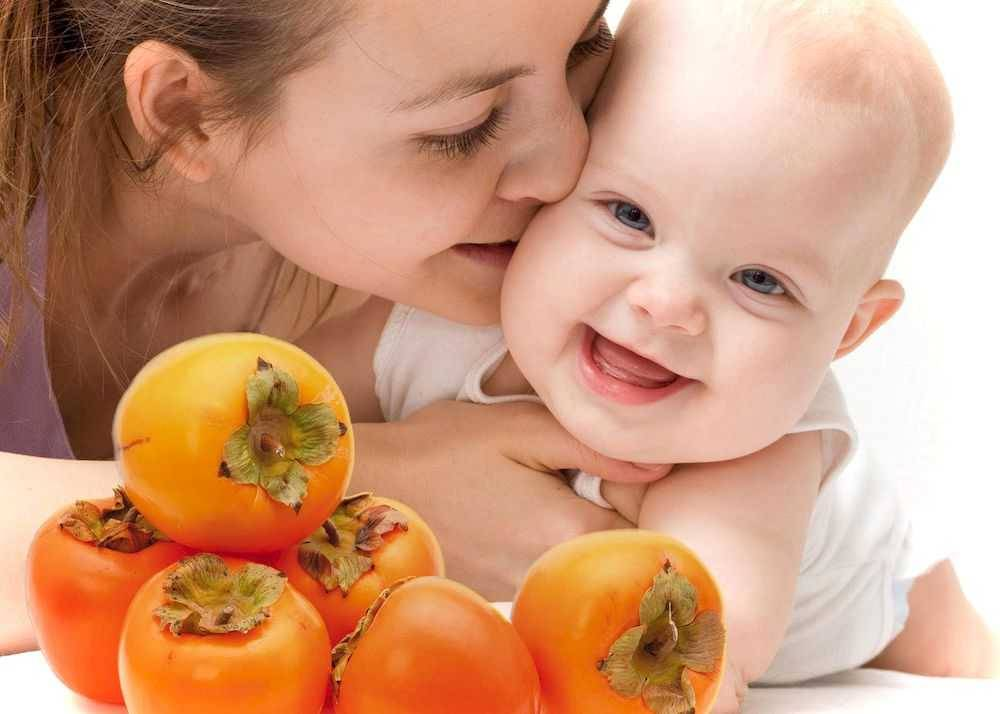 Хурма в рационе питания детей: когда и как вводить?