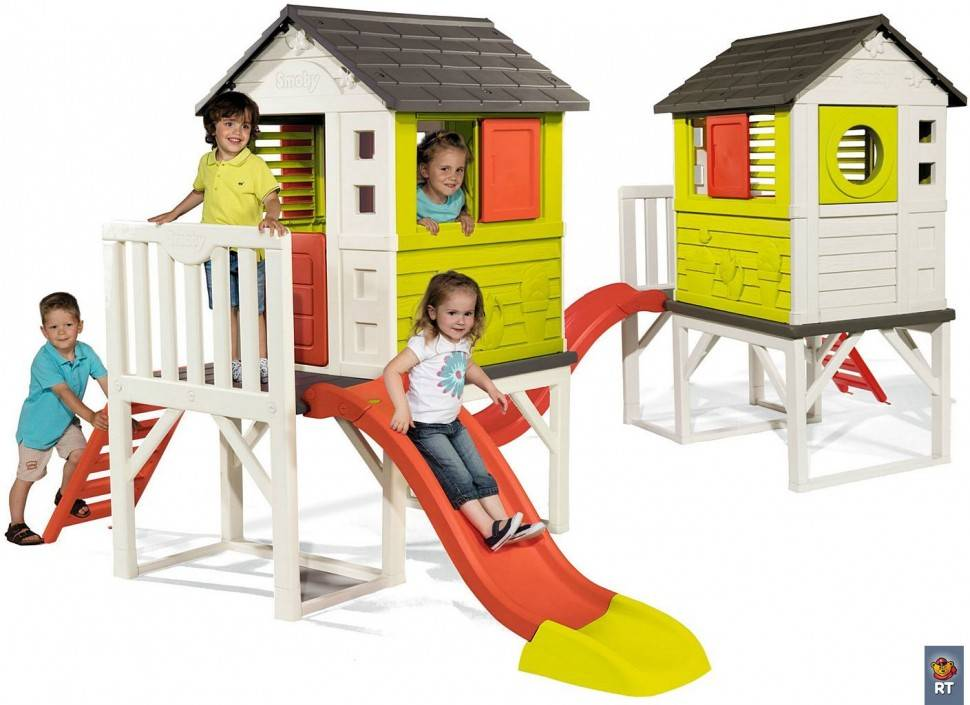 100 лучших идей: детские игровые домики на фото