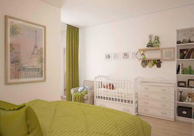Как поставить детскую кроватку в спальне родителей: 9 практических советов