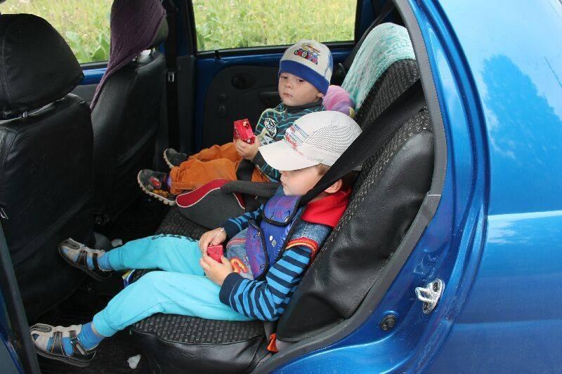 Правила перевозки детей по пдд в машине в 2021 году