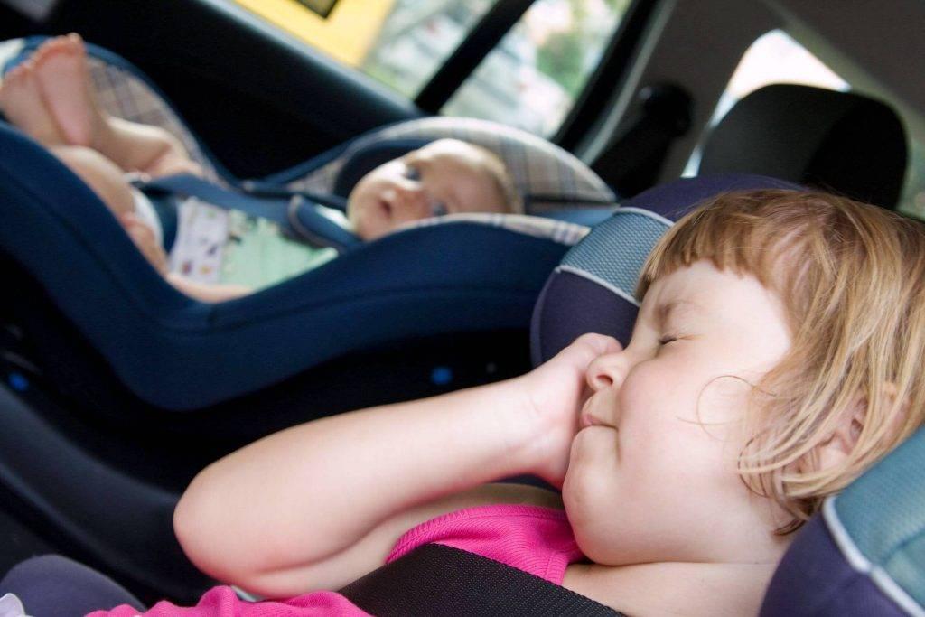 Как бороться с укачиванием ребенка в автомобиле