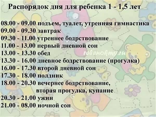 Режим дня ребенка 3 лет. распорядок дня 3 летнего ребенка