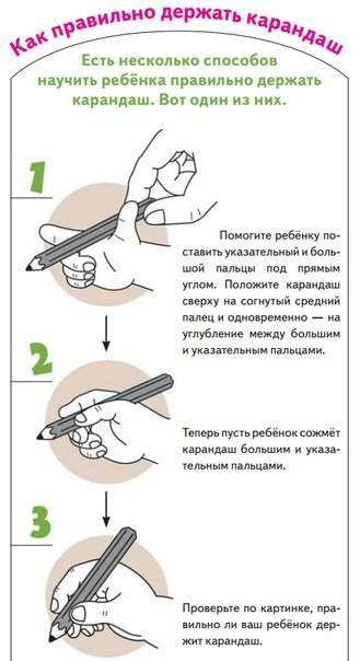 Как правильно держать ручку при письме: 6 секретов от детского психолога, как научить ребёнка