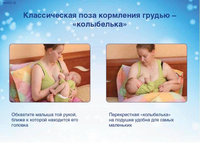Значение раннего прикладывания ребёнка к груди
