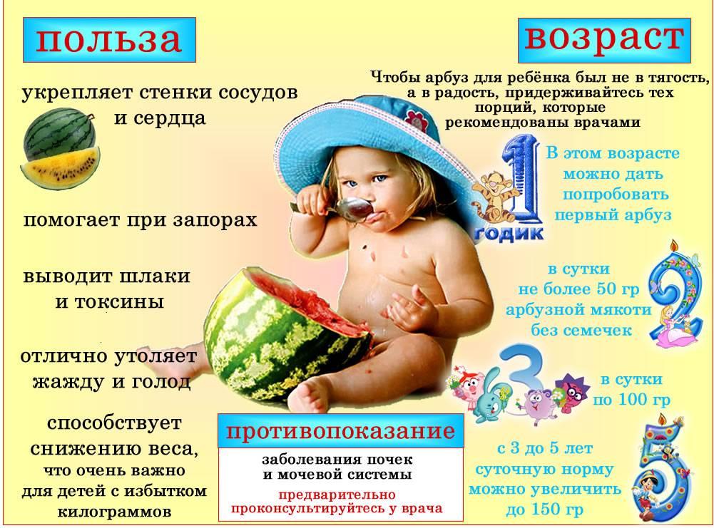 С какого возраста можно кормить дыней ребёнка и в каком количестве?