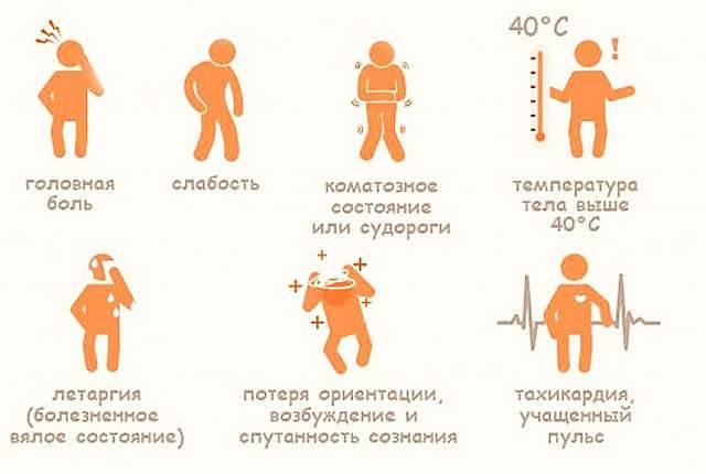 Солнечный удар: симптомы и первая помощь