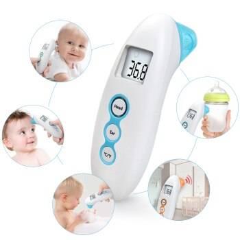 Инфракрасный термометр для детей: как выбрать лучший бесконтактный градусник?