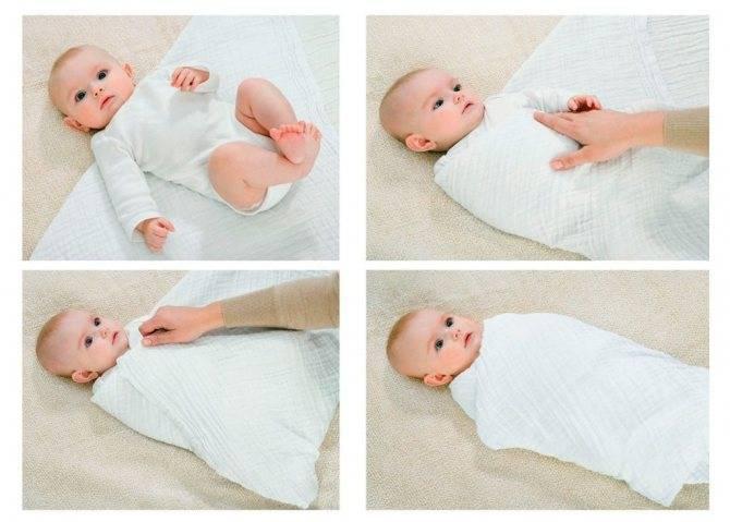 Размер стандартной пеленки для новорожденных