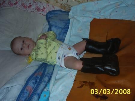 Парафиновые сапожки и аппликации для детей в домашних условиях