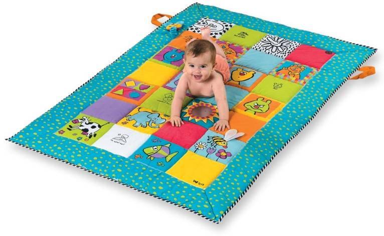 Как сделать развивающий коврик для ребёнка своими руками