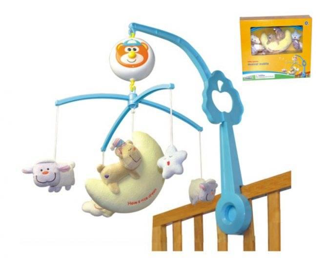 Какой выбрать мобиль на кроватку для новорожденного?
