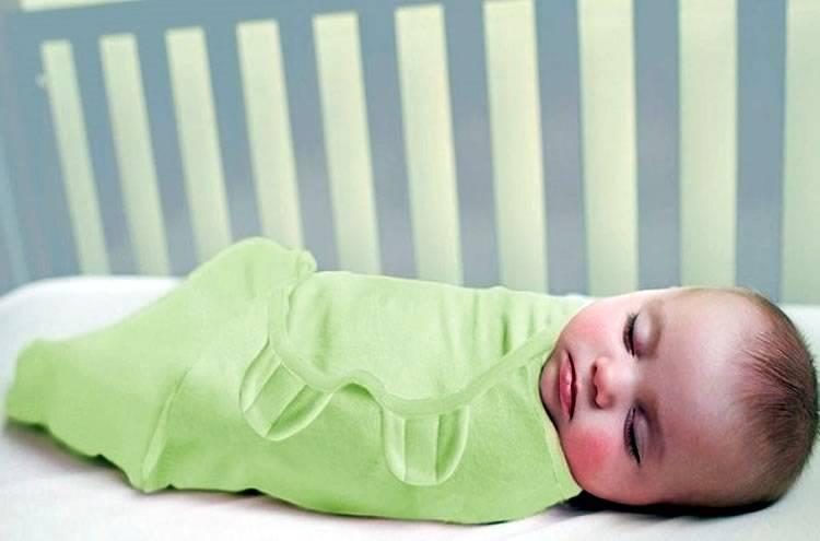 Как отучить ребенка от пеленания на ночь, приучить спать без пеленки?