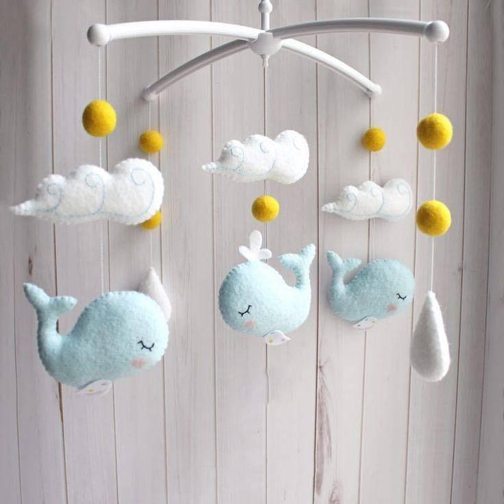 Мобили для кроватки новорожденного своими руками: выкройки и трафареты