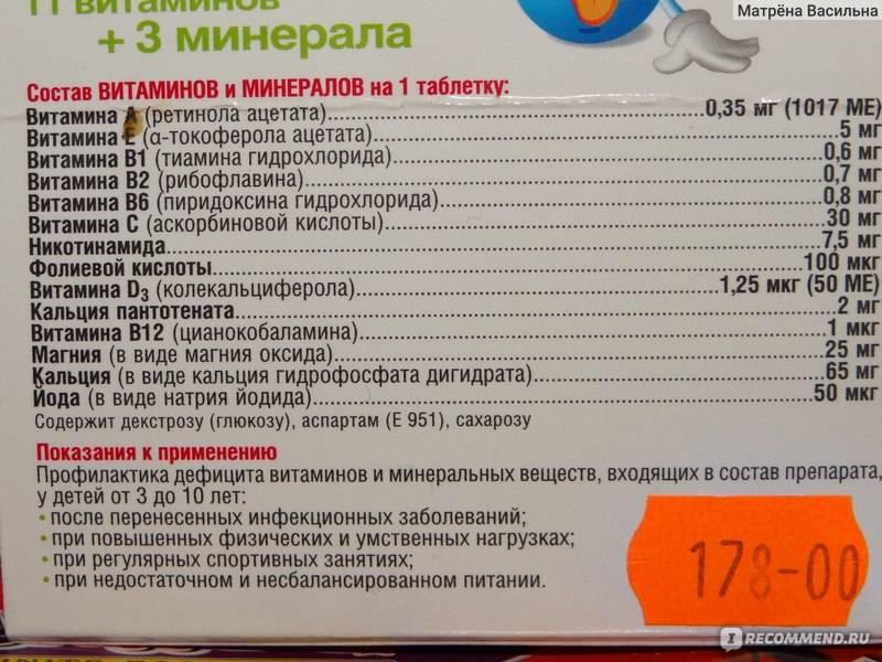 18 лучших витаминов для подростков - рейтинговое агенство simplerule