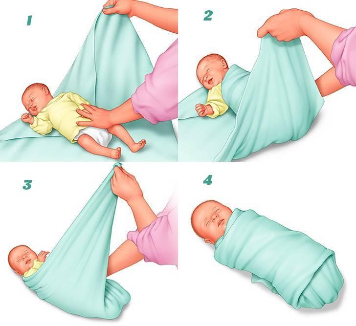 Какие пеленки лучше купить для новорожденного, выбор материалов и размеров изделий