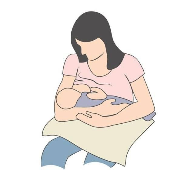 Позы для кормления грудью - 6 поз для кормления новорожденного