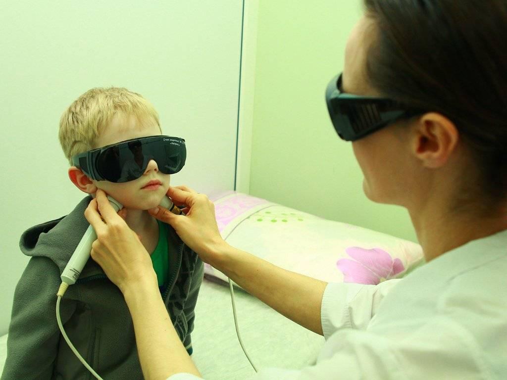 Лечение аденоидов лазером у детей в москве по цене 100 руб.