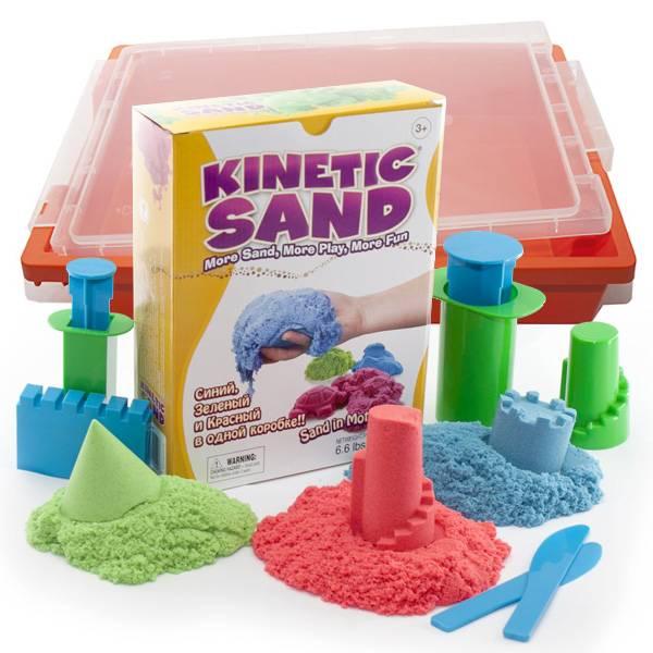 Кинетический песок для детей: какой лучше для игр