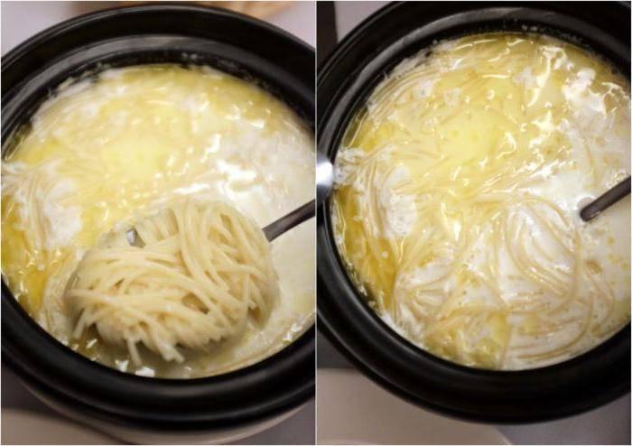 Молочный суп с макаронами — не только для детей: рецепт с фото и видео