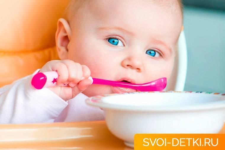 Как кормить с ложки? - энциклопедия детское питание