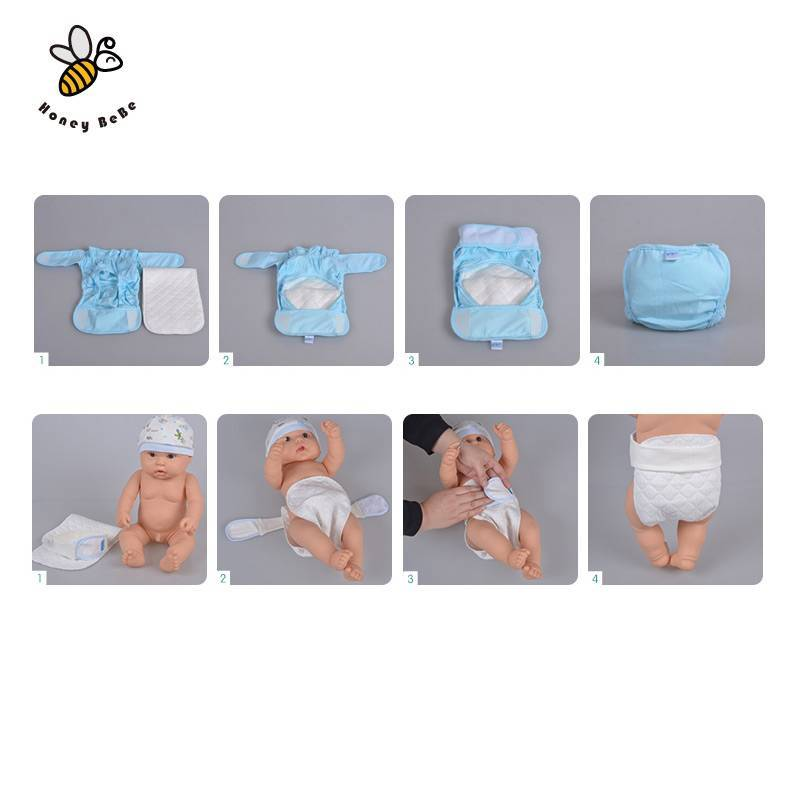 Как сделать марлевые подгузники для новорожденных