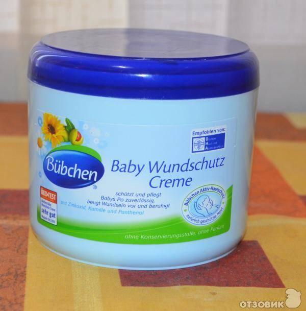 Все о детских кремах для подгузников