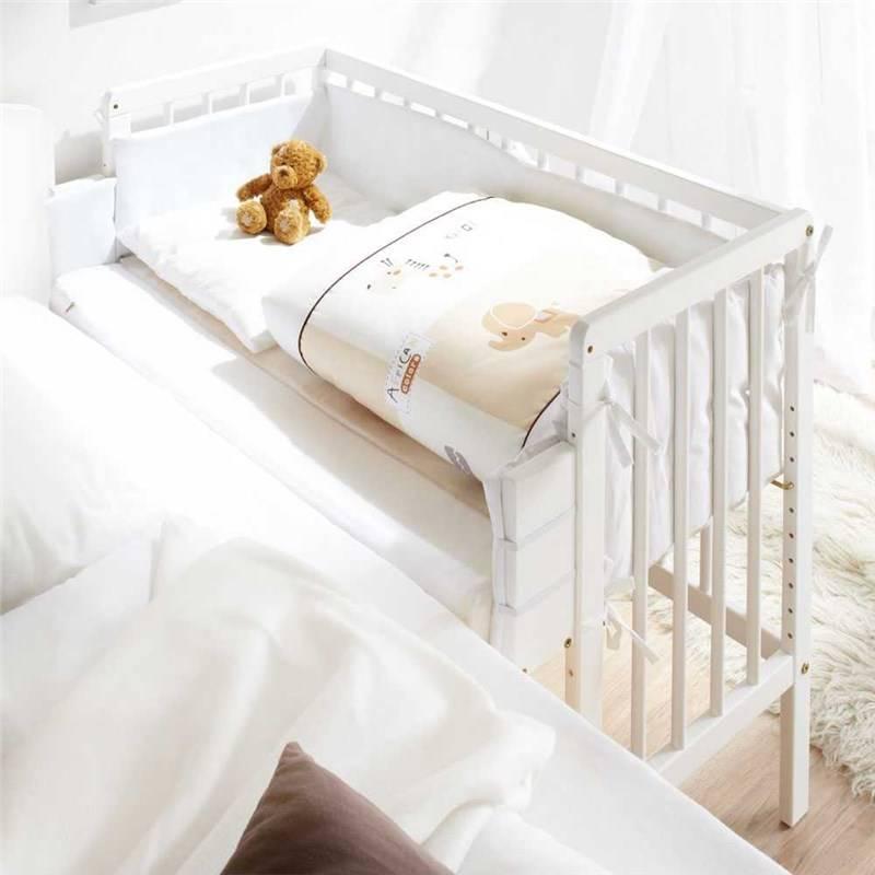 Приставная кроватка для новорожденных: разъясняем тщательно