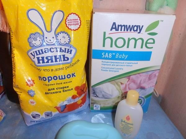 Чем стирать детские вещи для новорожденных, фото / пеленки и одежда: лучшие средства чистки