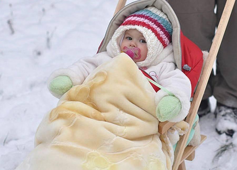 Почему холодный нос у новорожденного на улице и дома?