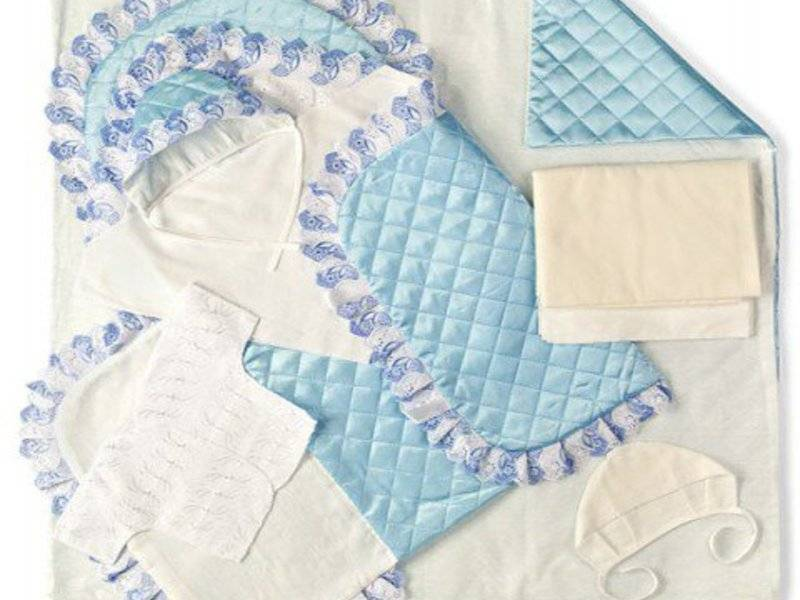 Одеяло на выписку своими руками: мастер-класс по изготовлению