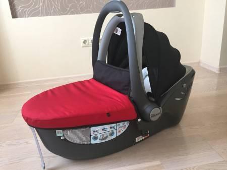 Автокресла maxi-cosi cabriofix и britax römer baby safe plus ii: сравнительный обзор, отличия
