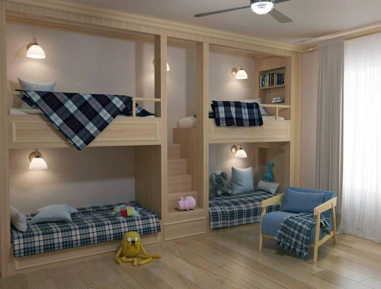 Детская комната 12-18 кв для двух разнополых детей (50 фото интерьеров)