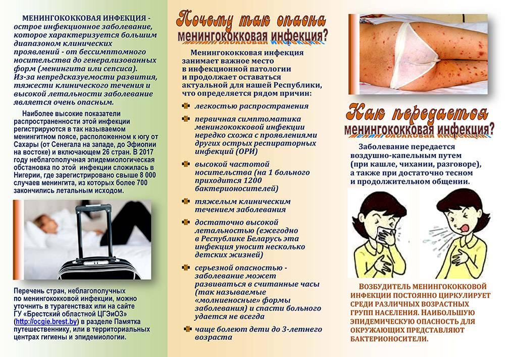Менингококковый менингит у детей - симптомы болезни, профилактика и лечение менингококкового менингита у детей, причины заболевания и его диагностика на eurolab