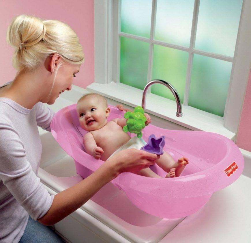 Купание новорожденного ребенка: как правильно организовать процесс
