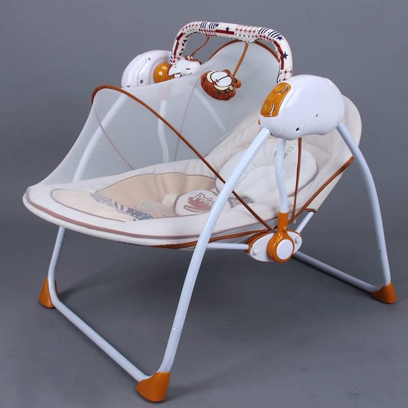 Качалка для новорожденных: автоматическая автокачалка-колыбель, электронная детская люлька-качели