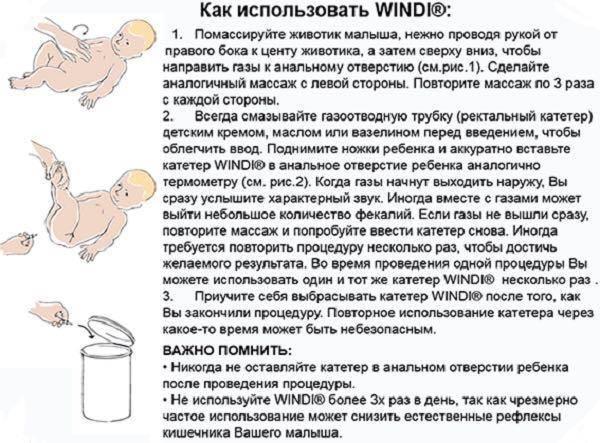 Как правильно использовать газоотводную трубку для новорожденных. безопасны ли газоотводные трубочки для младенцев?