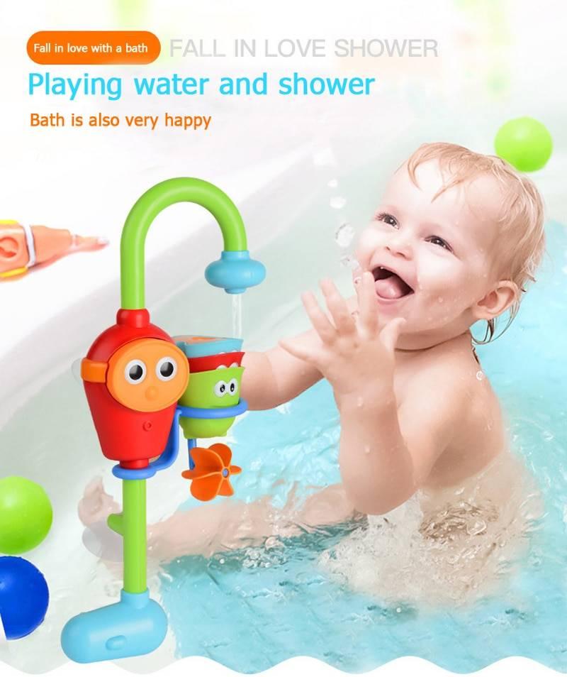 Игрушки для ванной и купания малыша