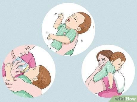 У новорожденного икота после кормления: что делать, профилактика