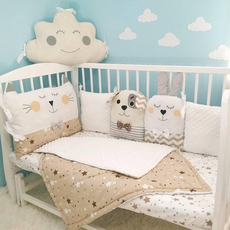 Как выбрать одеяло для новорожденного в кроватку