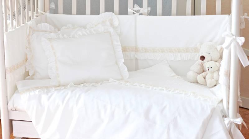 Детское постельное белье в кроватку: размеры, как сшить своими руками, комплекты для новорожденных
