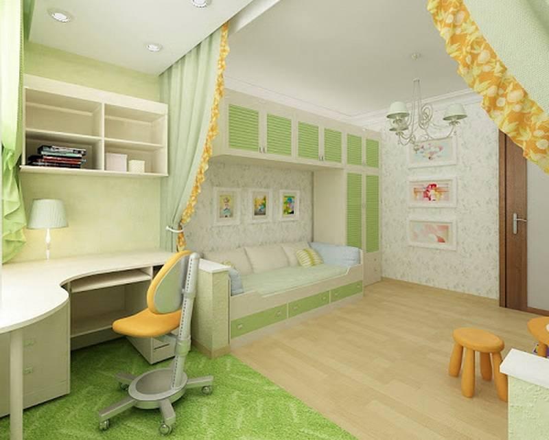 Детская комната для двоих детей: варианты планировки и фото ярких интерьеров – советы по ремонту
