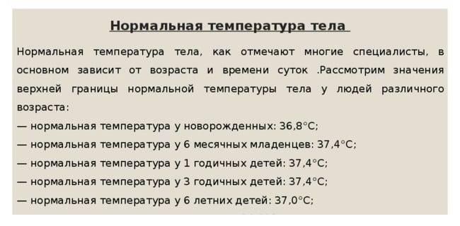 Температура при прорезывании - может ли быть и как устранить